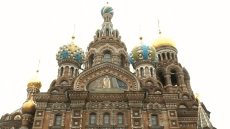 Iglesia del Salvador sobre la sangre derramada (Rusia)