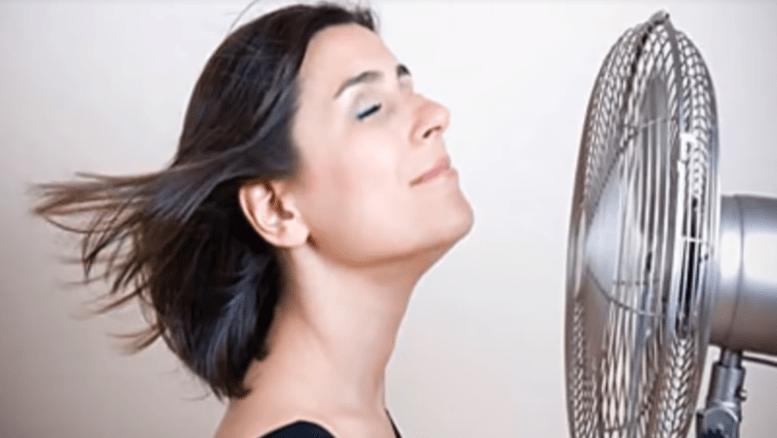 Mujer con Calor