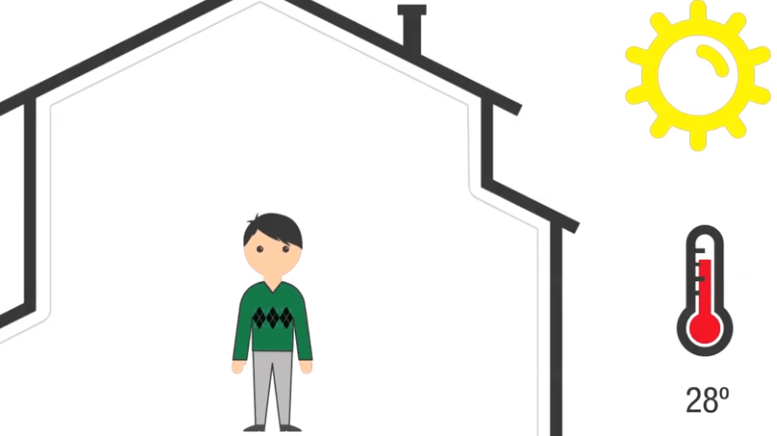 temperatura ideal en el hogar