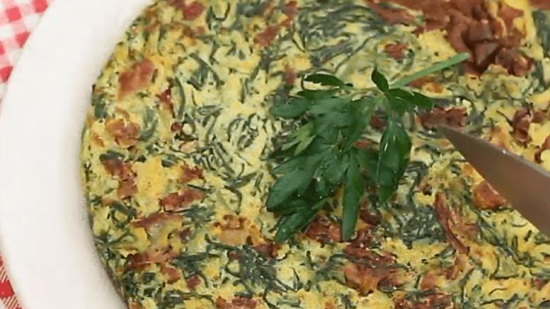 tortilla de agretti
