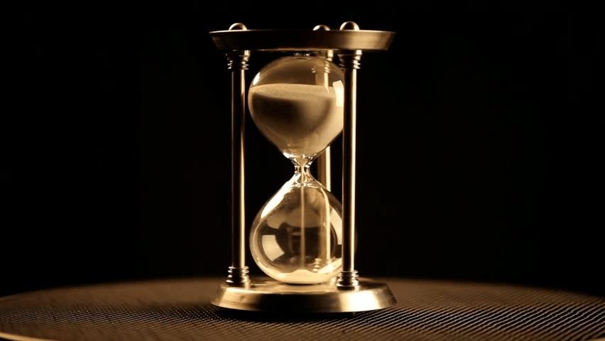 como hacer un reloj de arena