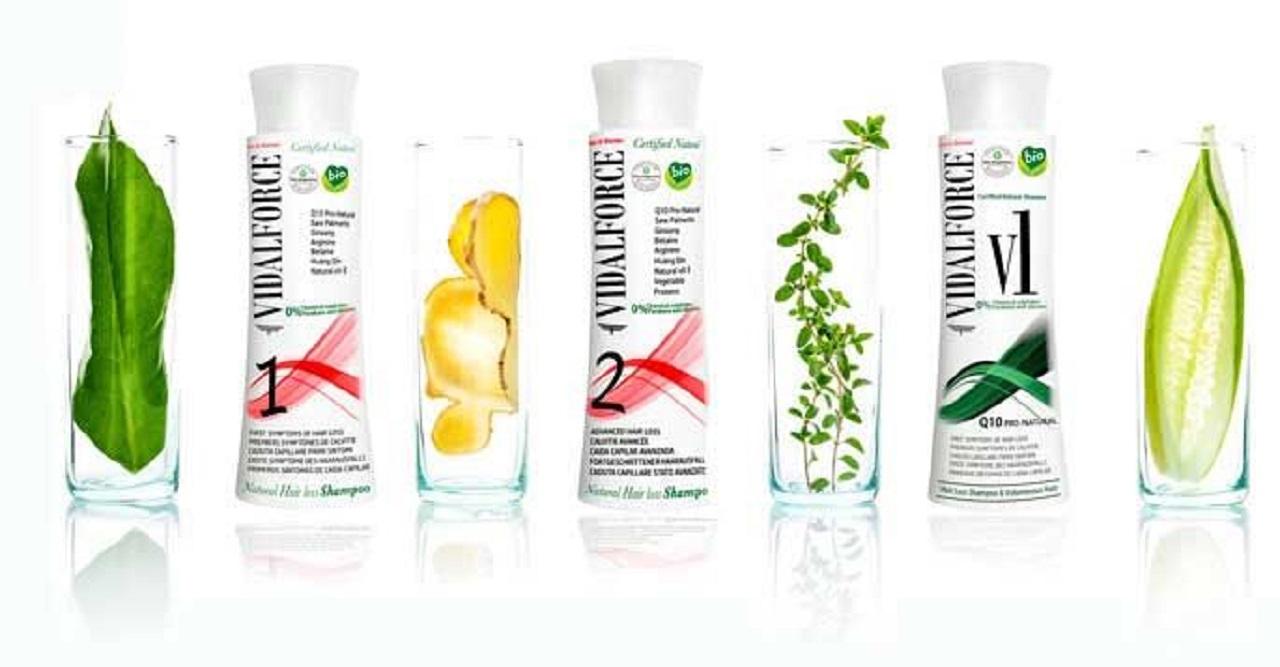Vidalforce, productos capilares naturales